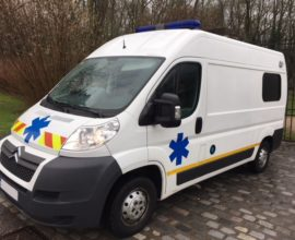 2) Ambulances CITROEN Jumper L2H2 Occasion