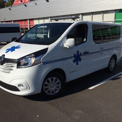 Ambulance RENAULT TRAFIC / FIAT TALENTO L1H1 et L2H1  AR.France