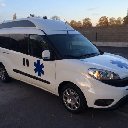 Ambulance Fiat Doblo Maxi XL - AutoRibeiro
