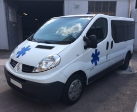 Ambulance TRAFIC L1H1 GIFA - nouvelles normes EN1789
