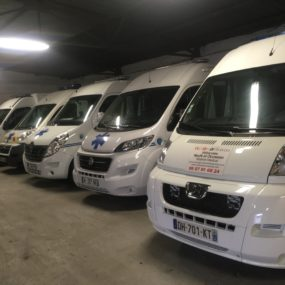 Ambulances disponibles de suite