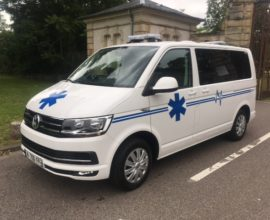 Ambulance VOLKSWAGEN Transporter T6 Autoribeiro France L1H1 150 CV
