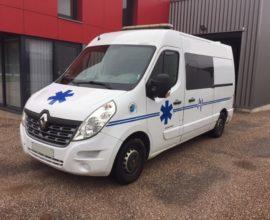 Ambulance RENAULT Master  L2H2 165 CV Bi Turbo AutoRibeiro France