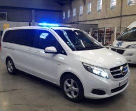 Ambulance MERCEDES CLASSE V - 163CV- BVA - AVANGARDE