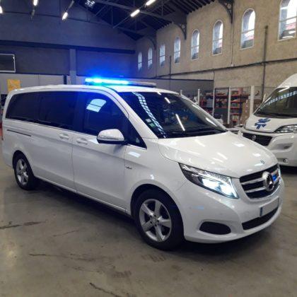 Ambulance MERCEDES CLASSE V - 163CV- BVA - Auto Ribeiro