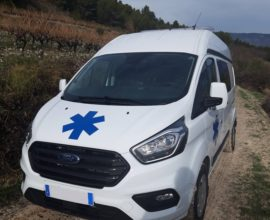 Ambulance Ford Transit Custom  L1H1 et L2H1 AR.France