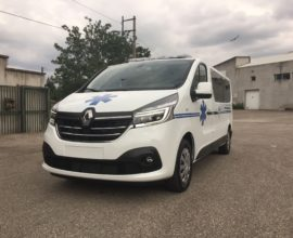 Ambulance RENAULT TRAFIC / FIAT TALENTO version High Tech