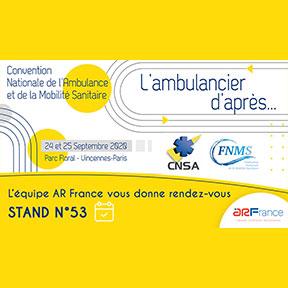Convention Nationale de l'Ambulance et de la Mobilité Sanitaire  - 24 et 25 Septembre 2020