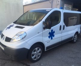 3) Ambulances Renault Trafic L1H1 Nouvelle Norme EN1789