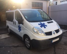 Ambulance RENAULT TRAFIC L1h1 150 CV EN1789